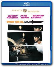 Wait Until Dark Blu-ray New Audrey Hepburn Alan Arkin Richard Crenna