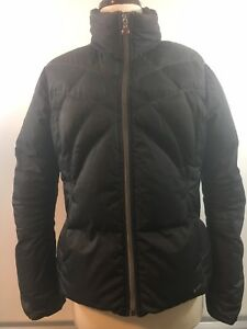 NIKE Puffer Coat -Youth Medium Black with Red. Great interior pockets. EUC.
