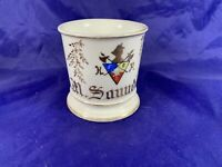 Vintage T&V Coat of Arms shaving mug signed H Numbered 4139 - b339