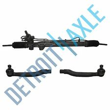 Complete Power Steering Rack & Pinion + Both Outer Tie Rods  Honda Accord 4 CYL