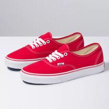 vans zapatos rojos hombres