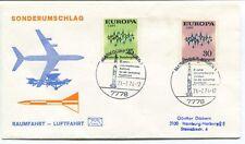 1974 Sonderumschlag Raumfahrt Luftfahrt Europa Cept Deutsche Bundespost SPACE