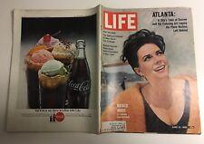 LIFE MAGAZINE Aug 1962 NATALIE WOOD Atlanta ARNOLD PALMER Spendor in the Grass+1