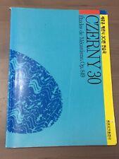 Czerny 30 Music Book