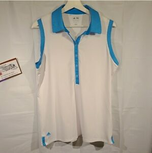 Adidas Puremotion, golf T, size Large and absolutely adorable! Color: Teal Blue