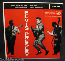 ELVIS PRESLEY-Rare Ep 45+Sleeve With No Dog On The 45 Label-RCA VICTOR #EPA-830