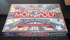 "MONOPOLY ""THE AMERICA"" SPECIAL ED. CELEBRATING U.S. GREATNESS! ""2002"" NRFB!"