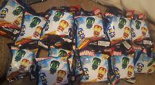 6 x Marvel Pixelated heroes original minis Mini Figures Pack Blind Bags