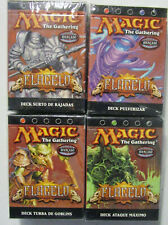 SCOURGE - SET OF 4 THEME DECKS - PORTUGUESE - MTG MAGIC THE GATHERING