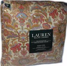 RALPH LAUREN Chapman Floral 3PC KING COMFORTER SET NEW COTTON Multi Color