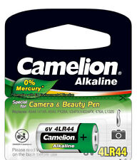3 x Camelion 4LR44 Blister 4LR44EP/1BB PX28A A544 V4034PX K28A Batterie