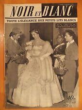 NOIR et BLANC N° 379 du 28/05/1952-Irène Papa, la fiancée d'Ali Khan