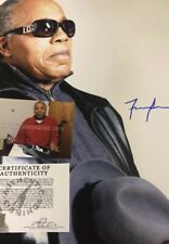 Autographed Frank Lucas 16x20 Photo ASI Certified Signed American Gangster