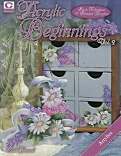 """""""Acrylic Beginnings Vol 2"""" Decorative Tole Painting Book"""