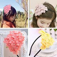 1Pc Cute kids girls flower hairband headband hair hoop band accessories XE