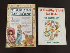 What to Expect The Toddler Years, A Healthy Start for Kids Baby Books