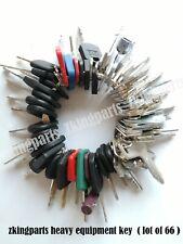 All New 66 Heavy Equipment Construction Key Ignition Key Suit For Kubota