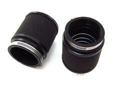 ☆ UNI Foam Motorcycle Air Filter Pod Set • 50mm - 52mm • PK-82 • Vintage Cafe ☆