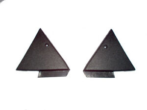 87 88 89 90 91 92 93 MUSTANG DOOR MIRROR MOUNTING HOLE COVER SET