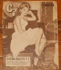 CINE EN 7 DIAS #165 1964 Veronique Vendell Miguel Rios Karina revista fotogramas
