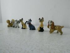 More details for wade disney 6 miniatures lady and the tramp figurine characters j28