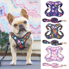 No Pull Dog Harnesses and Leash Set Step in Soft Padded Large Dog Walking Vest