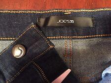 "Joe's women's denim shorts 25 waist 26"" rise 8"" inseam 4.5 cotton elastrell span"