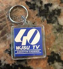 """1980S Tv 40 WJSU Anniston Gadsden Keychain 3"""""""