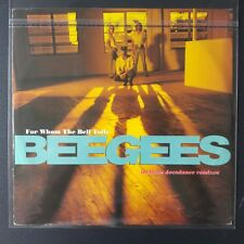 """Bee Gees – For Whom The Bell Tolls (Vinyl 12"""", Maxi 33 Tours)"""