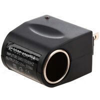 Universal AC to DC Car Cigarette Lighter Socket Adapter [US Plug] T3R4) NH