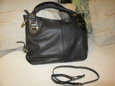 e654f7e07f41 Dolce and Gabbana Dolce Gabbana large black leather tote bag. ex travel bag