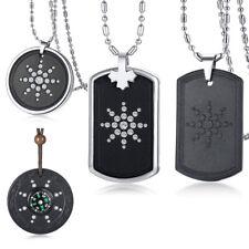 Anti Radiation Shield EMF Protection Negative Balance Energy Necklace Pendant