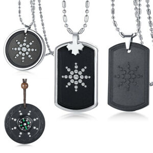 Anti Radiation Shield EMF Protection Negative Balance Energy Necklace Pendant
