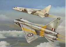 English Electric Lightning supersonic RAF Fighter TSR-2 Tactical Bomber card