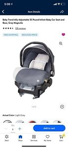 """baby trend infant car seat 4-35 Lbs.32"""" or less"""