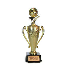 Soccer Ball Cup Trophy #2- Winner- Futbol- Custom- Champion- Free Lettering