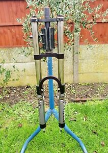 White Brothers Pro Forks DC118 Triple Clamp Fork - Retro Downhill MTB 1998 Bike