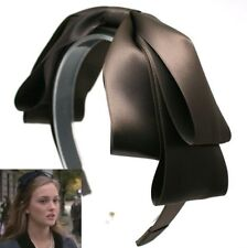 GOSSIP GIRL BLAIR HEADBAND RIBBON SATIN HAIRBAND HAIR ACCESSORIES HANDMADE HB759