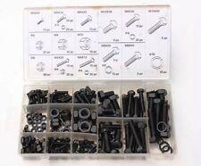 240PCS Nut & Bolt Washer Lock Assortment Set in Storage M4 5M 6 8 10 Fastener Uk
