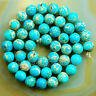 """Wholesale Lot Natural Gemstone Round Spacer Loose Beads 4mm 6mm 8mm 10mm 15.5"""""""