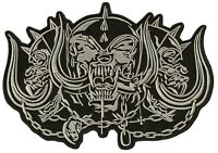 Backpatch patche dorsal écusson dos grande taille Motorhead biker patch grand