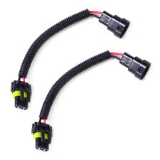 2x HB4 9006 9012 Wiring Harness Socket Wire Connector Plug For Headlight Lights