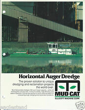 Equipment Brochure - Ellicott - Mud Cat - Mc-915 - Dredge - c1987 (E2854)