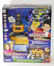 E-SCIENCE Digital Weather Station Kit No. 3800 Kids Learning Educational Toy NEW