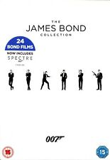 The JAMES BOND COLLECTION 007 24 FILMS 24 DISCS DVD BOXSET (2017)