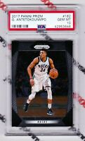 Giannis Antetokounmpo 2017 Panini Prizm #182 PSA Gem MINT 10 Milwaukee Bucks