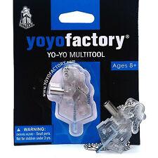 YoYoFactory MultiTool Yo-Yo Bearing Removal Multi-Tool - Clear