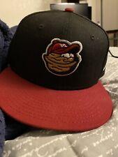 Modesto Nuts Player Hats Semi Used Wally The Walnut Away Hat