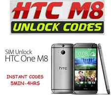 Unlock Code HTC ONE M8 O2 T-Mobile EE Tesco Virgin Three 3 Orange Vodafone Mini