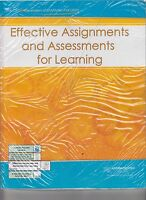 Learning Focused Effective Assignments & Assessments For Learning  (E1-33)